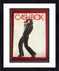 "1980, Billy Joel, ""CASH BOX"" Magazine (No Label)  Scarce / Vintage"