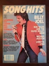 "1980, Billy Joel, ""Song Hits"" Magazine (No Label) Scarce"
