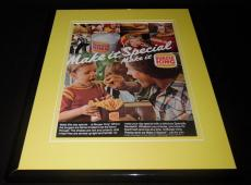 1980 Burger King Make It Special 11x14 Framed ORIGINAL Vintage Advertisement