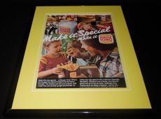 1980 Burger King Make It Special 11x14 Framed ORIGINAL Vintage Advertisement