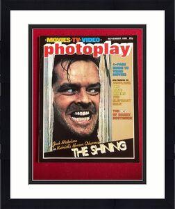 "1980, Jack Nicholson, (The Shining), ""Photoplay"" Magazine (No Label) Scarce"