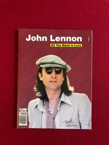 1980. John Lennon (Beatles), Tribute Magazine (Vol. 1, No. 1)