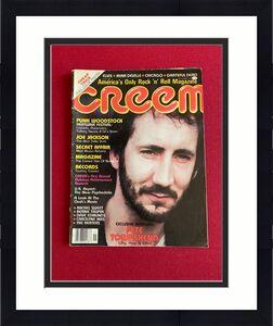 "1980, Pete Townshend / The Who, ""CREEM"" Magazine, (No Label) Scarce / Vintage"