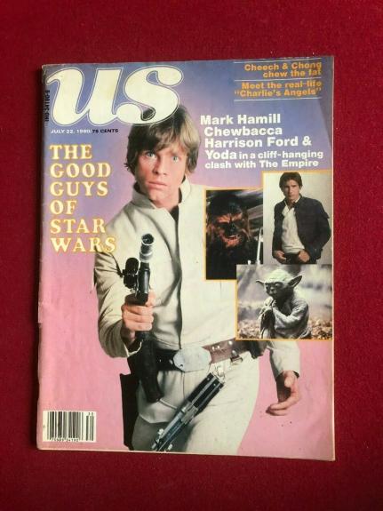 "1980 Star Wars, (EMPIRE STRIKES BACK) ""US""  Magazine (No Label) Scarce"
