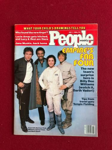 "1980, Star Wars, ""People"" Magazine (EMPIRE STRIKES BACK) Scarce (No Label)"