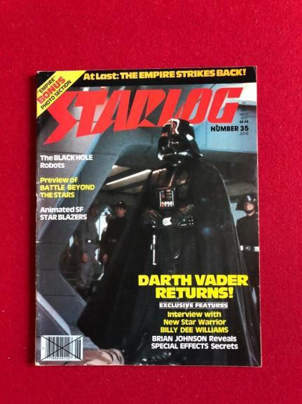 "1980, Star Wars, ""STARLOG"" Magazine (EMPIRE STRIKES BACK) Scarce"