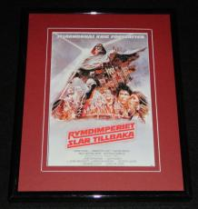 1980 Swedish Empire Strikes Back 8x10 Framed Photo Poster Display Official Repro
