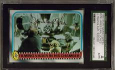 1980 Topps #256 Star Wars James Earl Jones Darth Vader Sgc Jsa Auto