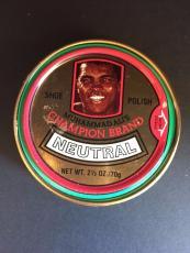 "1980's Muhammad Ali, ""Un-Used"" Shoe Polish Large Can"