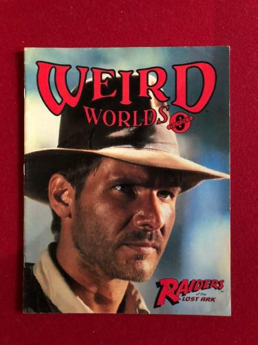 "1981, Harrison Ford, ""Weird Worlds""  Magazine  (Scarce) (Raiders Lost Ark)"