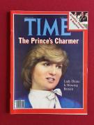 """1981, Princess Diana,  """"TIME MAGAZINE"""" (No Label)"""