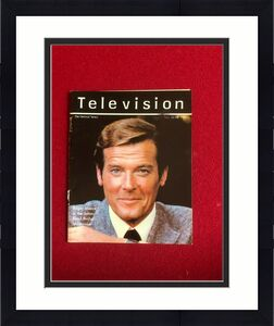 "1981, Roger Moore, ""Television"" Magazine Cover (Scarce / Vintage)"