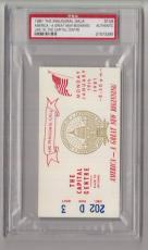 1981 Ronald Reagan Inaugural Gala Capital Centre Ticket/Pass PSA 21573265