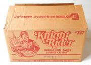 1982 Donruss Knight Rider Trading Card Empty Wax Box Case #247