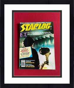 "1982, E.T., ""STARLOG"" Magazine (No Label) Scarce / Vintage"