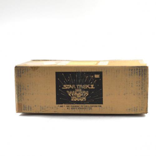1982 FTCC Star Trek II The Wrath of Khan Wax Box EMPTY Case  694