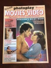 "1982 Sylvester Stallone, ""Rocky"",  ""Photoplay"" Magazine (No Label)"