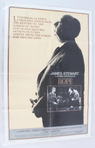 1983 Alfred Hitchcock's Rope Movie Poster One Sheet NSS830180