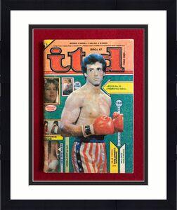 "1983, Rocky / Sylvester Stallone, ""itd"" Magazine (No Label) Scarce"