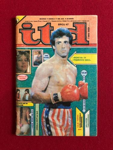 "1983, Rocky / Sylvester Stallone, ""itd"" Magazine (No Label) Scarce"