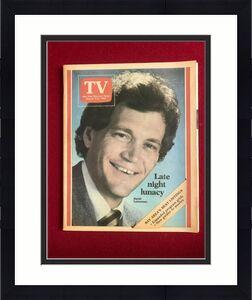 "1984, David Letterman, ""TV"" Magazine (No Label) Scarce / Vintage"