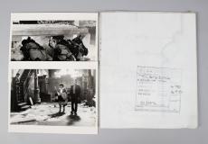 1984 Ghostbusters Lot – Scene Blueprint & (2) Scene Photos – COA