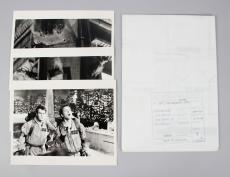 1984 Ghostbusters Lot – Scene Blueprint & (3) Scene Photos – COA