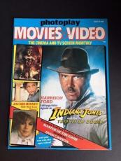 "1984 Harrison Ford, ""Indiana Jones Temple Doom"", Photoplay Magazine (No Label)"
