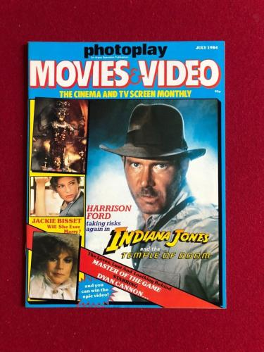 "1984, Harrison Ford, ""Photoplay"" Magazine (No Label) Scarce"