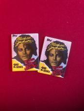 """1984, Michael Jackson, """"Unopened"""" Topps Wax Packs (2)"""