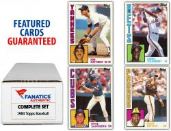 1984 Topps Baseball Complete Set of 792 Cards - Mounted Memories
