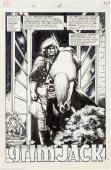 1985 Grimjack #7 Timothy Truman Signed Original Art Complete 20 Page Story