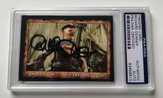 1985 Topps The Goonies Richard Donner Director #57 Signed Auto Card PSA/DNA