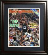 1985 Villanova Wildcats NCAA Champs team signed 16x20 photo framed 13 auto COA