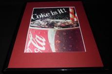 1986 Coca Cola Coke is It Framed 11x14 ORIGINAL Vintage Advertisement