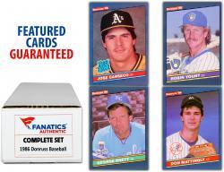 1986 Donruss Baseball Complete Set of 660 Cards