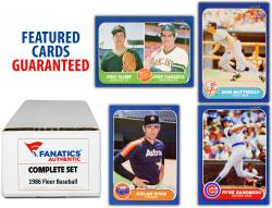 1986 Fleer Baseball Complete Set of 660 Cards - Mounted Memories