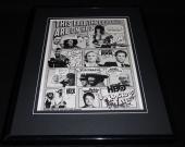 1986 HBO Framed 11x14 ORIGINAL Vintage Advertisement Rambo Robin Williams