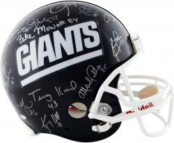 1986 New York Giants Autographed Pro Line Helmet with 29 Signatures