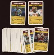 1986 Redskins Ace Fact Pack Football Card Set NM/MT