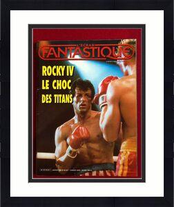"1986, ROCKY (Sylvester Stallone), ""FANTASTIQUE""  Magazine  (Scarce)"
