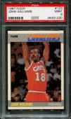 1987 Fleer #123 John Williams Rc Bullets Psa 9 K2519822-220