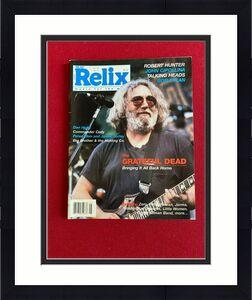 """1987, Jerry Garcia, """"Relix"""" Magazine (No Label) Scarce / Vintage (Grateful Dead)"""