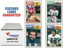 1987 Topps Football Complete Set of 396 Cards
