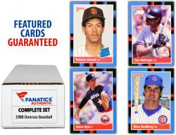 1988 Donruss Baseball Complete Set of 660 Cards - Mounted Memories