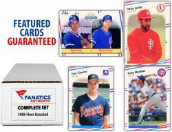 1988 Fleer Baseball Complete Set of 660 Cards