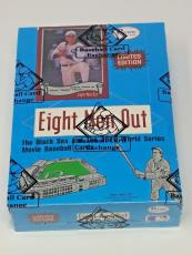 1988 Pacific Trading Cards Box Eight Men Out 1919 Black Sox Charlie Sheen Bbce