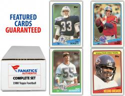 1988 Topps Football Complete Set of 396 Cards - Mounted Memories