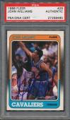 1988/89 Fleer #26 John Williams PSA/DNA Certified Authentic Auto Autograph *8465