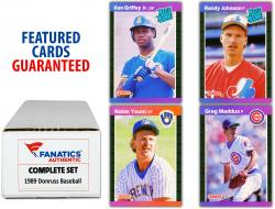 1989 Donruss Baseball Complete Set of 660 Cards